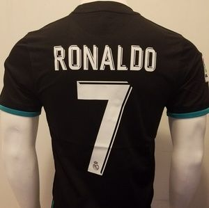 Other - RONALDO BLACK AWAY REAL MADRID FAN JERSEY 2017/18